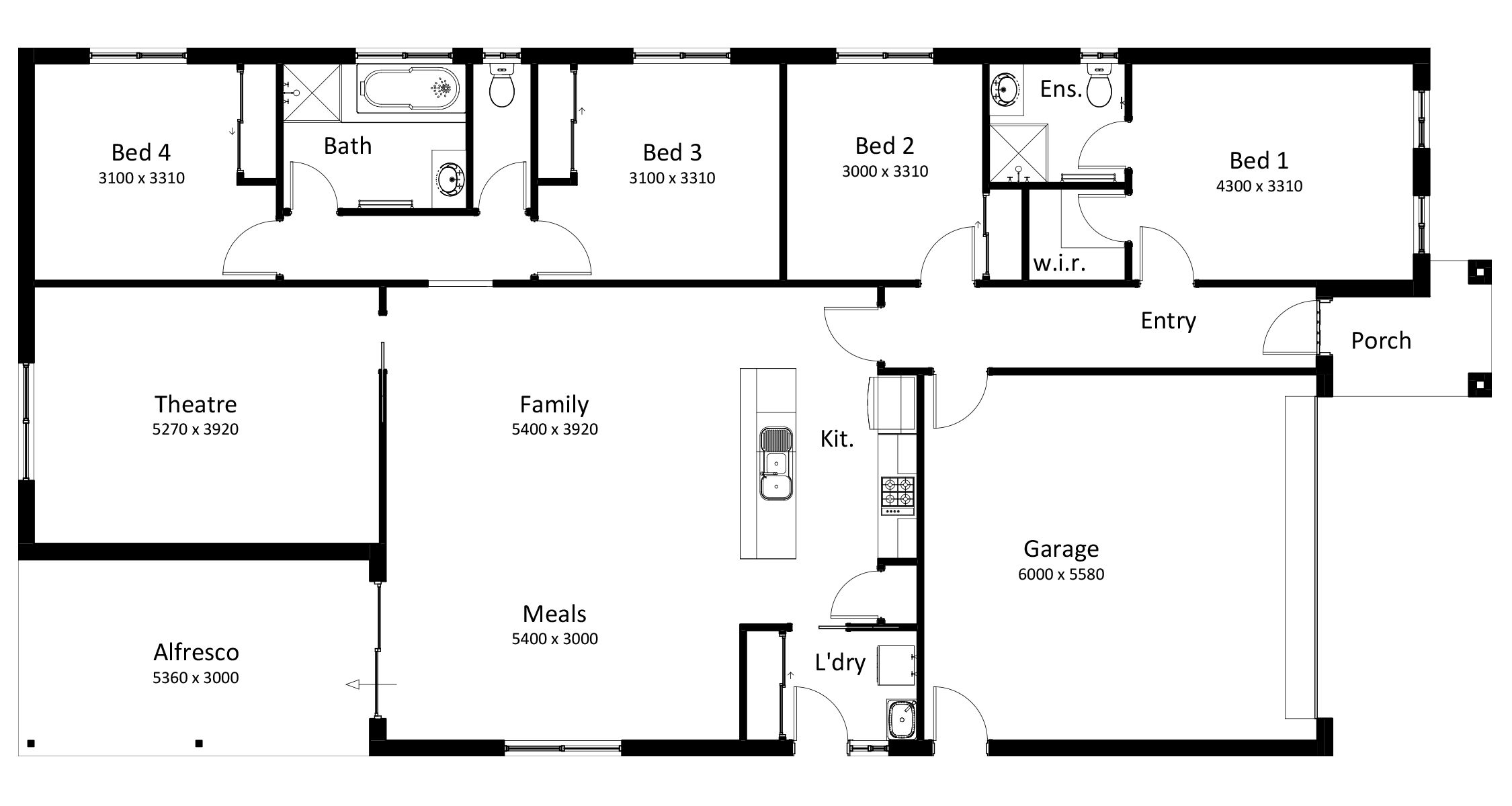 Southern Vale Homes - Crescent 4.2